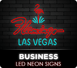 Business Led Neon Flex Signs