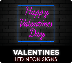 Valentines Led Neon Flex Signs
